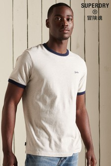 Superdry Organic Cotton Vintage Ringer T-Shirt