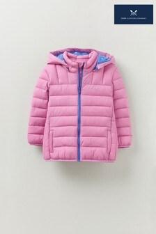 Crew Clothing Company Pink Lightweight Jacket