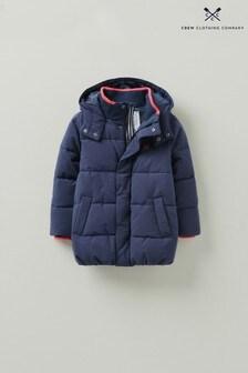 Crew Clothing Company Blue Mini Me Chancellor Jacket
