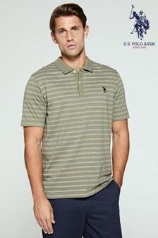 U.S. Polo Assn. Stripe Jersey Polo