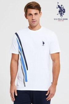 U.S. Polo. Assn. Side Stripe T-Shirt