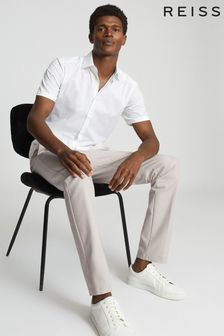 Reiss Stone Eastbury Slim Fit Chinos