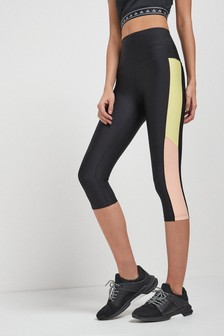 Leggings de sport capri gainant