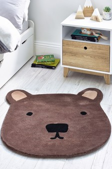 Tufted Bear Rug