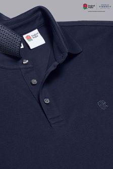 Charles Tyrwhitt Rfu Short Sleeve Pique Polo