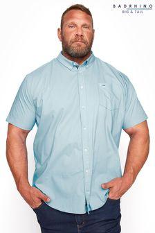 BadRhino Cotton Poplin Short Sleeve Shirt