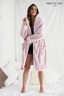 Pretty You London Cloud Dressing Gown Robe