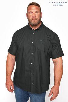 BadRhino Essential Short Sleeve Oxford Shirt