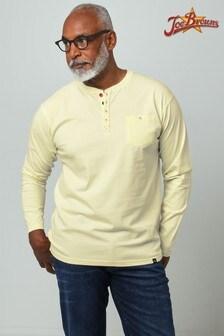 חולצתHenley עם כיס שלJoe Browns