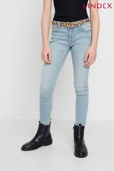 Lindex窄腳牛仔褲