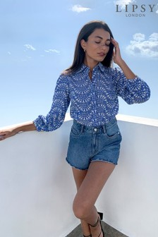 Lipsy Embroidered Shirt