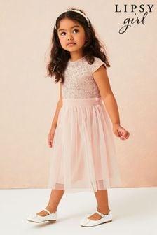 Lipsy Mini Sequin Bodice Occasion Dress