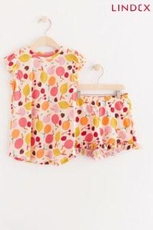 Lindex Short Printed Pyjama Set