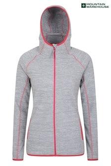 Mountain Warehouse Lleyn Melange Womens Full Zip Fleece