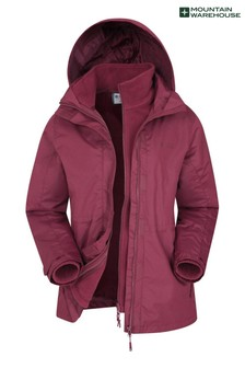 Mountain Warehouse Fell Womens 3 In 1 Water-Resistant Jacket