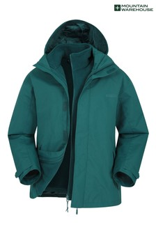 Mountain Warehouse Fell Mens 3 In 1 Water Resistant Jacket (P26775)   $77