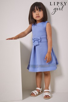 Lipsy Mini Scuba Bow Dress