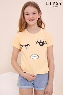 Lipsy Eyelash Girl Tee