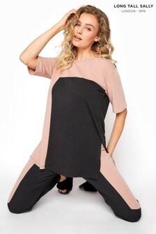 חולצת פנאי של Long Tall Sally בשילוב צבעים שונים