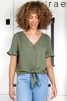 חולצת קשירה של Rae דגם Clover