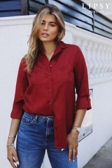 חולצת כיסים של Lipsy מבד רך במיוחד בגזרה משוחררת