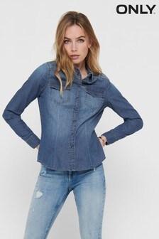 חולצת ג'ינס של Only