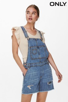 Only Denim Shorts Dungarees (P40923)   $48