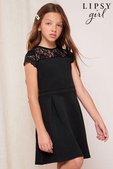 فستان بنير دانتيل من Lipsy