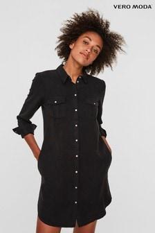 Vero Moda Lightweight Denim Shirt Dress