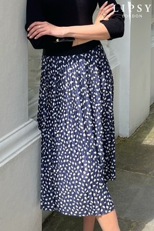Lipsy Pleated Midi Skirt
