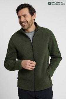 Mountain Warehouse Relic Mens 100% Recycled Full Zip Casual Fleece (P47469)   $66