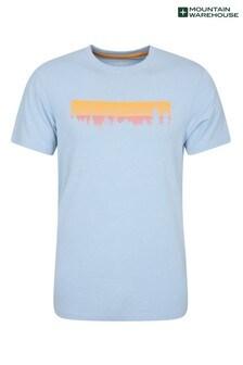 Mountain Warehouse Mens Lightweight Printed T-Shirt