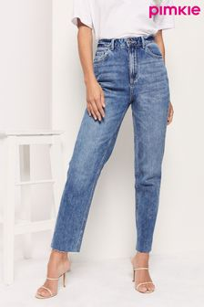 Pimkie High Waisted Straight Leg Jean
