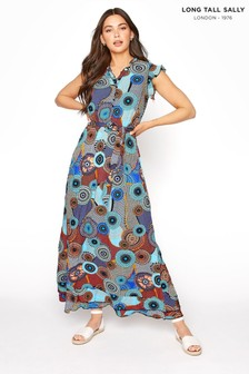 Long Tall Sally Circle Wrap Midi Dress
