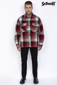 Schott Wool Mix Overshirt Jacket (P50376) | $152