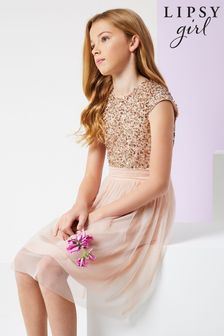 Lipsy Sequin Bodice Occasion Dress