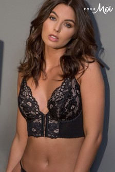 Pour Moi Amour Accent Front Fastening Underwired Bralette
