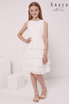 Anaya With Love Tulle Skirt Teired Dress