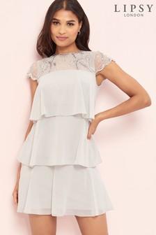 Lipsy Tierred Ruffle Dress