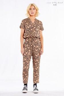 Never Fully Dressed Animal Jumpsuit (P53779)   $123