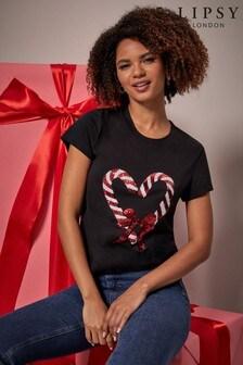 Lipsy Christmas Tshirt