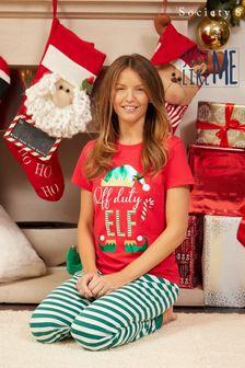 Society 8 Matching Family Christmas Pyjama Set