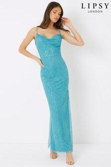 Lipsy Cowl Maxi Dress