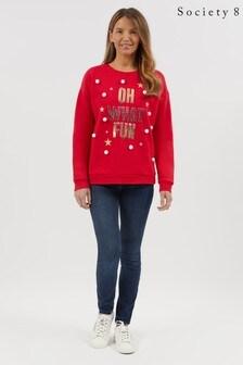 Society 8 Ladies Christmas Sweatshirt