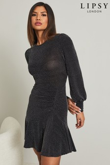 Lipsy Ruched Detail Dress