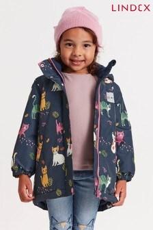 Lindex Fleece Lined Printed Jacket - Kids