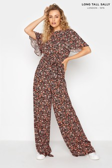 Long Tall Sally Paisley Print Jumpsuit (P61437) | $62