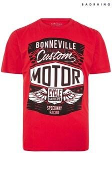BadRhino Bonneville Motor Print T-Shirt