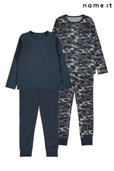 Name It 2 Pack Camo Print Pyjama Set