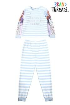 Brand Threads Girls Disney Frozen Fleece Pyjamas